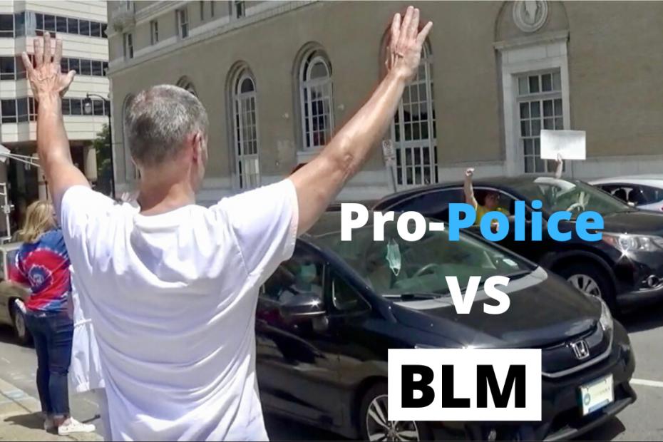 Pro-Police VS BLM Rally
