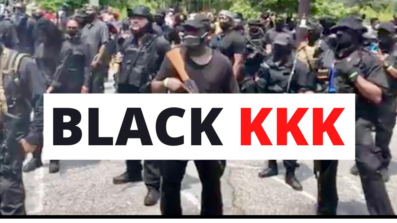 BLACK KKK Instigates a RACE WAR