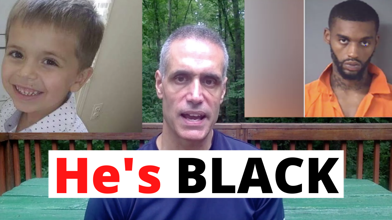 Media won't admit white boy's killer is black