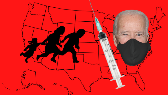 Exposing Joes Border Invasion--Forced Vaccine Game